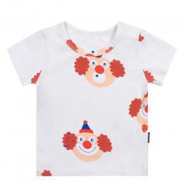 TinyPeople 2019 nowych moda t-shirt dla dzieci chłopcy letnie ubrania bawełna nadruk kreskówkowy dziewczyny śliczne krótki płasz