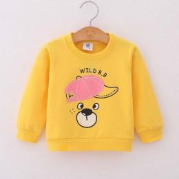 2019 Unisex dzieci Boys Baby dziewczyny bluzy bawełna Cartoon dres jesień wiosna dzieci odzież dla niemowląt Toddlers topy bluzy