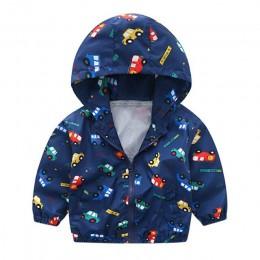 Bluzy dziecięce odzież dziecięca 0-4Y jesień nowe dzieci jasny kolor kurtka sportowa noworodka z kapturem bawełniane płaszcze ca