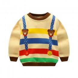 Dziecięca jesienno-zimowa bluza dla niemowląt chłopcy dziewczęta ciepła okładka bezzapachowa odzież sanitarna
