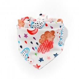Śliniaki dla dzieci bawełna śliniak dla niemowląt trójkąt śliczne śliniaki dla dzieci dziewczyny chłopcy kreskówka karmienie sza