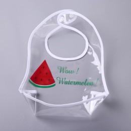Regulowane śliniaki dla dzieci EVA wodoodporne śliniaki na Lunch składane dziecięce sukienki do karmienia dzieci dziecięce fartu