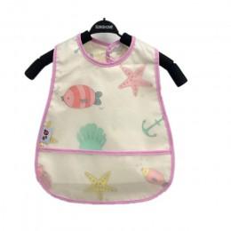 Śliniaki dla dzieci EVA wodoodporne śliniaki obiadowe rysunkowe owoce drukowanie niemowlęta śliniaki chłopcy dziewczęta karmieni
