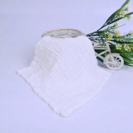 Śliniaki dla dzieci Burp ubrania muślin dziewczyny chłopcy dziecko tkaniny chustka śliniaki Smock Burp akcesoria niemowlę dzieck