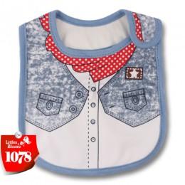 Baby Girl Boy śliniaki fartuch wodoodporny kreskówkowy ręcznik dla dzieci maluch obiad baberos bandany śliniaki dla niemowląt