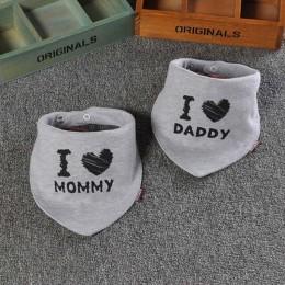 2 sztuk bawełna dziecko chustka na szyję podwójna warstwa ślina szalik moda nadruk kreskówkowy dziecko trójkątny ręcznik dla now