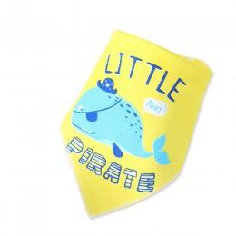 Boże narodzenie śliniaki dla dzieci chłopiec dziewczyna chustka dla niemowlaka śliniaczek drukuj zwierząt trójkąt bawełna dzieck