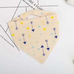 Śliniaki dla dzieci trójkąt podwójna bawełniana śliniaki nadruk kreskówkowy śliniaczek dla dzieci chłopców dziewcząt śliniak ban
