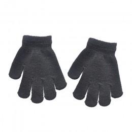 Gładkie rękawiczki niemowlę dziecko zagęścić Patchwork gorące dziewczyny chłopcy zimowych ciepłych rękawiczek dla malucha dzieci