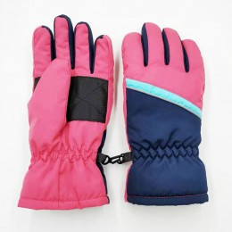 4-7y/8-12y/12-16y dzieci zimowe rękawiczki wodoodporne wiatroszczelne narciarskie chłopcy jazda na zewnątrz rękawice snowboardow