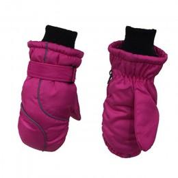 Rękawiczki dziecięce zagęścić rękawice narciarskie wiatroszczelne i wodoodporne ciepłe rękawiczki dla dzieci zagęścić utrzymuj c