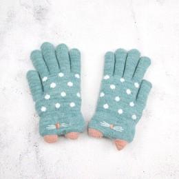 4-7 lat dzieci rękawiczki dziewczyna chłopiec zimowe ciepłe rękawiczki z dzianiny dla dzieci palce dziecko dziewczyna ciepłe aks