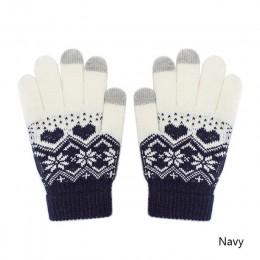 REAKIDS dzieci dziecko ekran dotykowy zimowe rękawiczki dzieci chłopiec dziewczyna ciepłe rękawiczki bawełniane z nadrukiem ciep