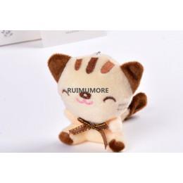 3Colors-7 cm kot pluszowe wypełnione zabawka w kształcie zwierzątka, zabawka dla dziecka, prezent dla dziecka pluszowe zabawki