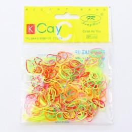 1000 sztuk/partia jednorazowe guma do włosów dzieci TPU opaski gumowe kucyk Holder elastyczna opaska do włosów dziewczyny Scrunc