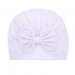 15 kolorów niemowląt opaski trwała bawełna Kont Turban pałąk dla dziewczynek Spandx rozciągliwy czapka typu beanie nakrycia głow