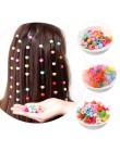 Dziecięca mała klamra, kolorowe małe galaretki, spinki do włosów dla dzieci, klipsy w kolorze cukierków i kwiatów, włosy splecio