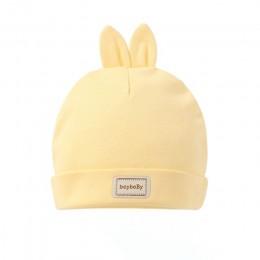 Śliczna czapka dla dzieci czapka z śliniaczkami cukierki jednolite kolory chłopcy dziewczęta czapki bez daszka dla dzieci czapki