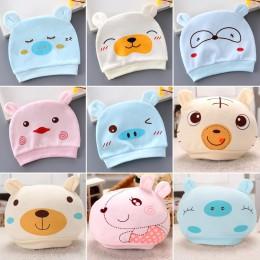 Czapka dla niemowląt śliczne bawełniane czapki dla noworodków czapki dla dzieci ręcznie robione dzieci dla dzieci urodzone chłop
