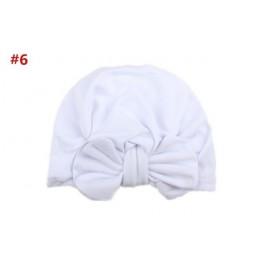 1 sztuka dzieci Bowknot dzieci kapelusz z kokardką czapka dla niemowląt nowonarodzone dziewczyny ubrania akcesoria niemowlę bean