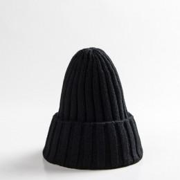 Ideacherry 1 sztuk jesień zima nowonarodzone chłopcy dziewczęta wełniane czapki ciepłe dzianiny szydełka rodzic-dziecko czapki m