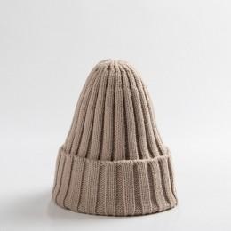Dzianinowa czapka dziecięca czapka niemowlęca kapelusz niemowlęcy dla chłopca lub dziewczynki ciepłe dzieci dziecko jesień zima