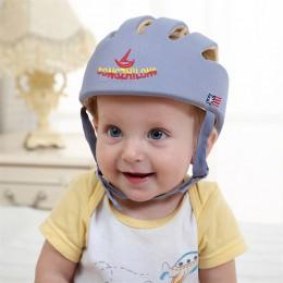 Kask ochronny dla dzieci kask ochronny dla niemowląt dziewczyna bawełna dla niemowląt czapki ochronne dla dzieci czapka dla chło