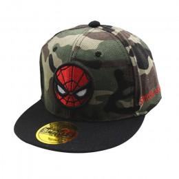 Czapka z daszkiem dla dzieci czapki hip-hopowe dla dzieci czapka Superman dla chłopca dziewczyna czapki z daszkiem moda Spiderma