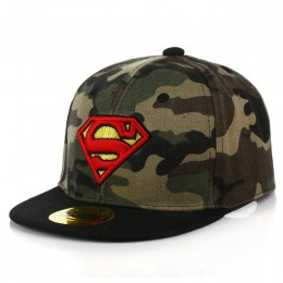 Nowe chłopięce dziewczyny Camo czapki dzieci Batman Visor dzieci Beanie czapki hip-hopowe czapki dziecięce czapki Casquette czap