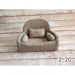 Noworodek fotografia rekwizyty dziecko pozowanie Sofa zestaw poduszek Photo Studio zdjęcie dziecka dekoracja krzesła niemowlę St