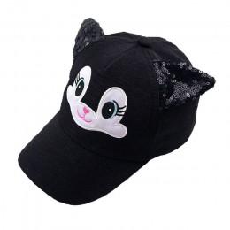 Czapka dla niemowląt Cartoon dziecko koreański kot uszy bawełniane czapki baseballowe wiosna lato Baby Boy dziewczyna kapelusze