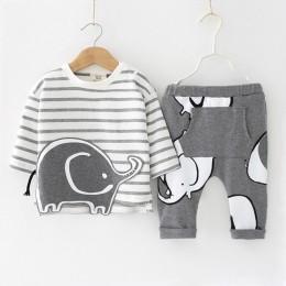 Nowonarodzone zestawy ubrań dla chłopców 2019 jesienno-zimowa odzież dla niemowląt odzież dla niemowląt kombinezony dziecięce 0-