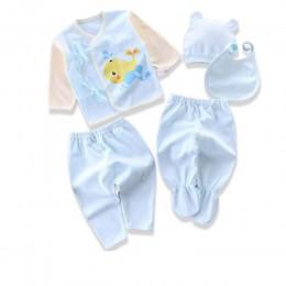 Marka 5 sztuk/zestaw enfant noworodka zestawy dla niemowląt chłopców garnitury ubrania dla dzieci bawełna