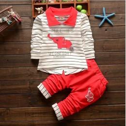 BibiCola maluch ubrania zestaw ubranek dla chłopca dresy sportowe moda z kapturem + t-shirt + spodnie 3 sztuk chłopców dres zest