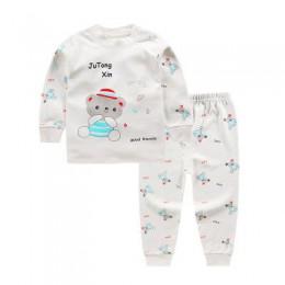 Bielizna dziecięca, komplet odzieży bawełnianej niemowlęcej, jesienne ubrania z nadrukami Mickey Minnie + spodnie ZJS0007