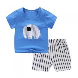 Śliczne arbuz krótkie rękawy + krótki zestaw dla chłopca lato Casual odzież stroje dla dziewczynki