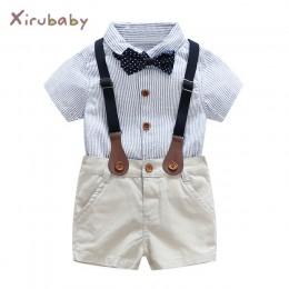 Baby boy panowie! 3 sztuk zestawy strojów 2017 lato noworodka zestawy ubranek dla niemowląt do krawata i koszuli + ogólnie odzie