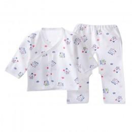 Noworodka zestawy dla niemowląt bielizna dla niemowląt zestaw Unisex odzież garnitur jesień zima ubrania dla dzieci zestaw T shi