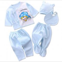 Bekamille niemowlę noworodka zestawy dla niemowląt (5 sztuk/zestaw) miękka odzież modna bawełniana chłopięca garnitury