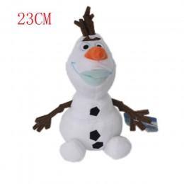 23 cm/30 cm/50 cm Snowman Olaf pluszowe zabawki wypchane pluszowe lalki Kawaii miękkie wypchane zwierzęta dla dzieci prezenty św