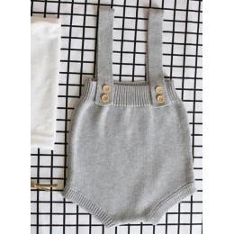 Nowy 2019 szydełkowane dla dziecka pajacyki śliczne kombinezony noworodków chłopców ubrania Infantil dziewczynka chłopiec bez rę