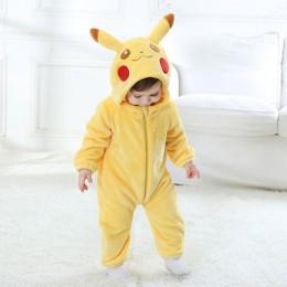 2019 śpioszki niemowlęce dla niemowląt chłopcy dziewczyny kombinezon noworodki Bebe odzież z kapturem maluch ubranka dla dzieci