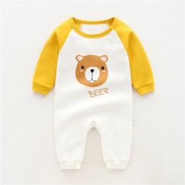 2019 zima dziecko bawełna, ubrania dla dzieci, noworodka Baby Boy ubrania pajacyki ZJS00015