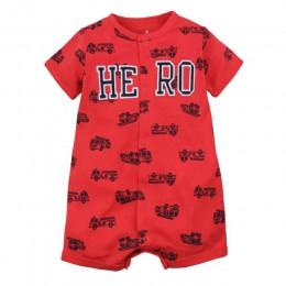 Orangemom oficjalny sklep letnie chłopcy odzież dziecięca krótki kombinezon noworodek Romper baby Boy ubrania niemowlę roupas śp