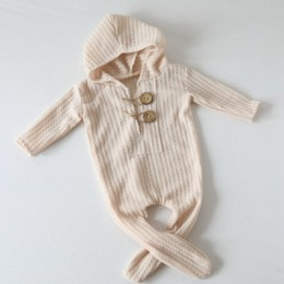 2019 noworodków zdjęcie noworodka fotografia rekwizyty akcesoria ubrania dla dzieci chłopcy pajacyki i kapelusz zestawy Bebe Reb