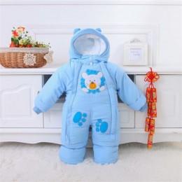 Ubranka dla dzieci zimowy styl jesienny noworodek śpioszki dla niemowląt nowe bawełniane kombinezony dla niemowląt chłopcy dziew