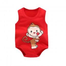 Śpioszki dla niemowląt lato marka 2019 bez rękawów 100% bawełna noworodka ubrania dla niemowląt chłopcy dziewczyny kombinezon ni