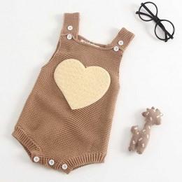2019 śliczne królicze dzianiny pajacyki dziecięce zimowe dziewczynek bez rękawów pajacyki odzież maluch noworodka jednoczęściowy