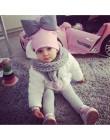 2019 wiosna maluch niemowlę dzieci dzieci dziecko bawełna kolorowe duża duża kokardka krawat kapelusz czapka czapka dla dziewczy