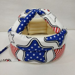 Czapka dla niemowląt hełm ochronny bawełna regulowany kask ochronny dla dzieci do nauki chodzenia dzieci osłona ochronna dla dzi